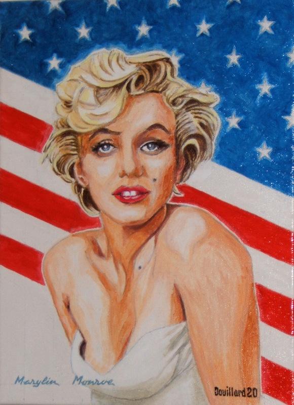 Marilyn Monroe par Douillard
